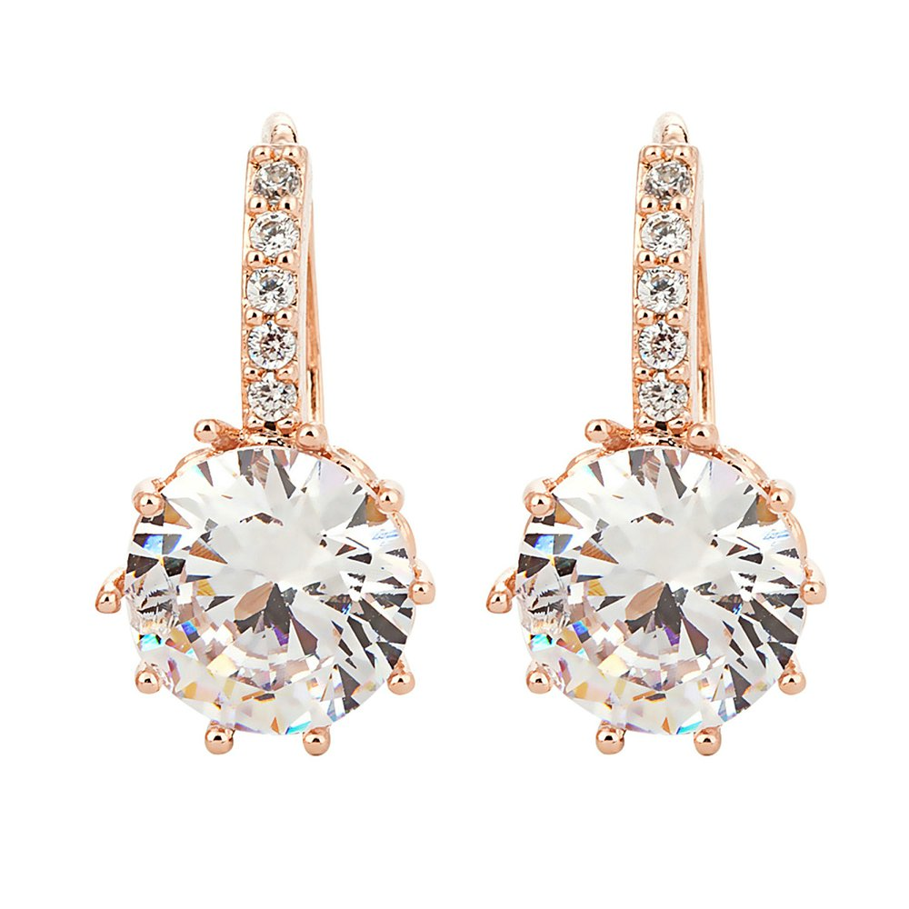 image amp jewellery white hollow earrings yellow new gold fancy drop
