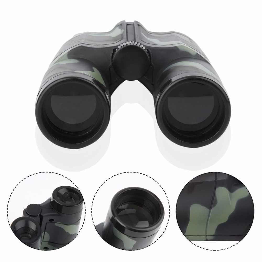 Image 5 - Niños plegable al aire libre Mini binoculares telescopio alcance juguete de camuflaje niños niño portátil regalo Deportes de caza gran ofertaportable scopebinoculars camouflagesport hunting -