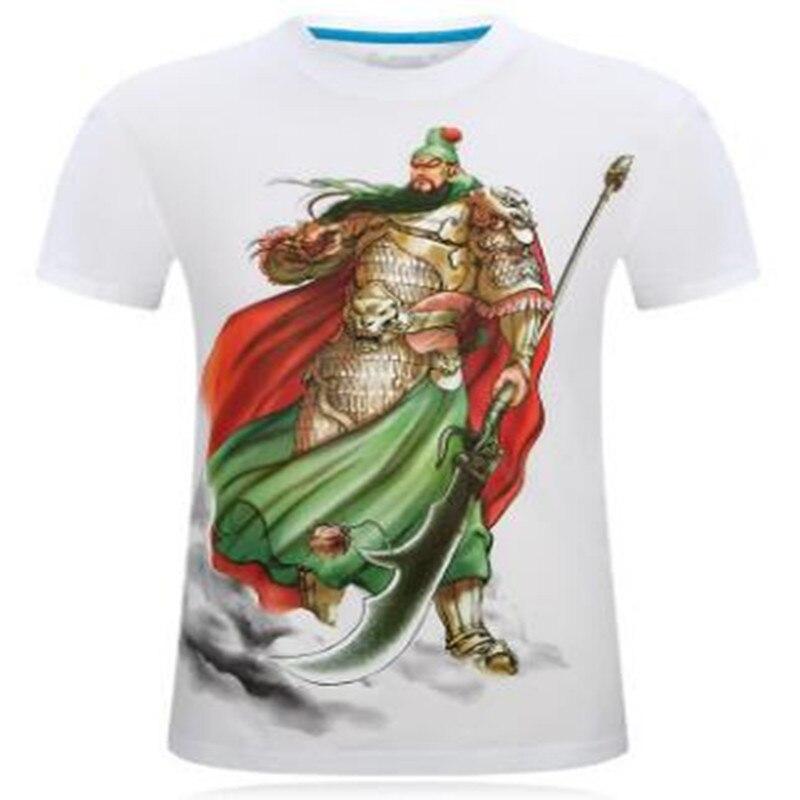 2019 Nieuwe 3d Korte Mouwen T-shirt Explosie Stereo T-shirt Xl Heeft Een Bazige Persoonlijkheid-guan Yu