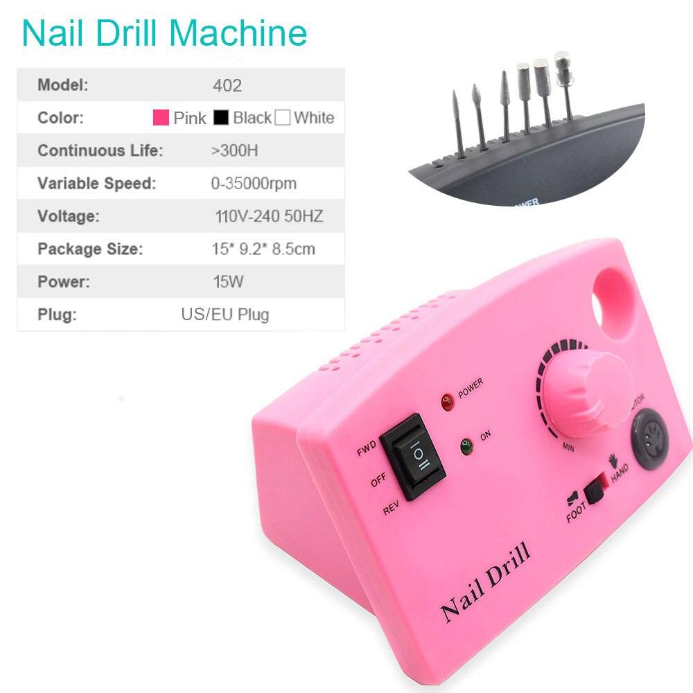 trituração manicure kit pedicure ferramentas arquivo do prego