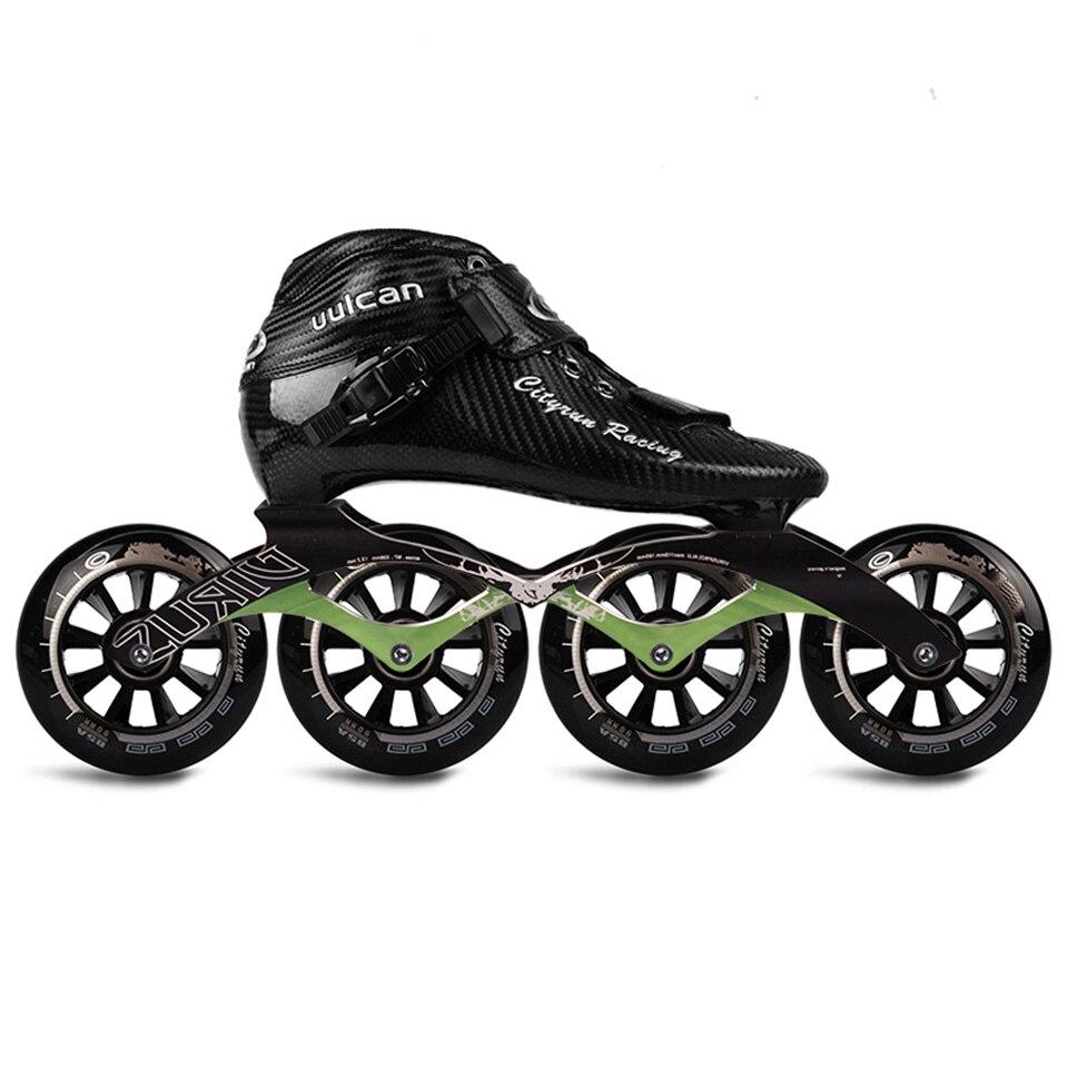 Original Cityrun Geschwindigkeit Inline Rollschuhe Berufs Wettbewerb Skating Patines Carbon Fiber 4 Rad Skating Schuhe Sh53 Verkaufsrabatt 50-70% Sport & Unterhaltung