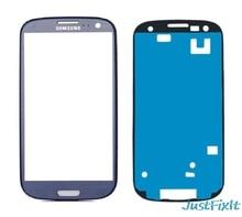 Samsung Galaxy S III için S3 i9300 I9305 I337 LCD ön dokunmatik ekran cam dış Lens