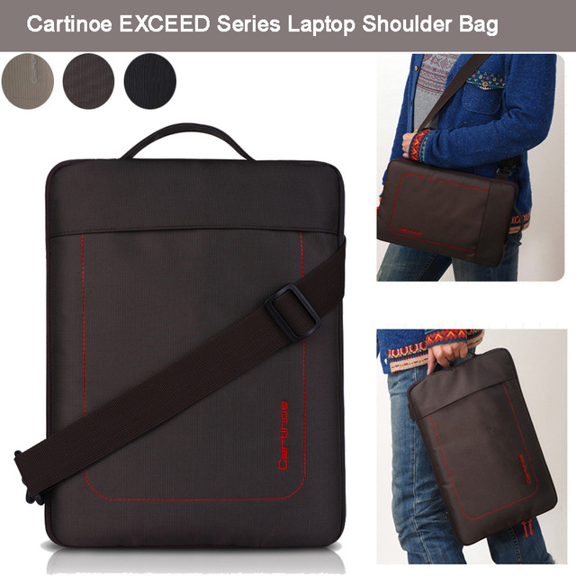 Cartinoe Uni Nylon Laptop Shoulder Bag Sleeve Carrying Vertical Messenger Case For 11 6 12 13 3