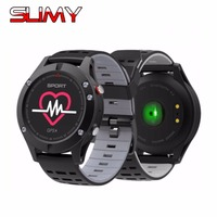 Slimy F5 GPS Bluetooth Smart Watch Waterproof Smartwatch For IOS Android Phone Heart Rate Monitor Altimeter