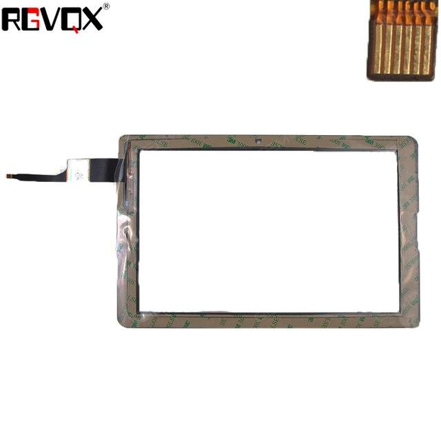 Acer B3-A20 오리지널 pn PB101A2657-R2 터치 스크린 디지타이저 유리 센서 교체 부품 흑백