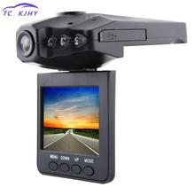 2,5 дюймов ЖК-экран 6 Ir светодио дный ночного видения Hd Dash Cam Автомобильный Dvr 270 градусов вращающаяся камера рекордер заднего вида зеркальная камера