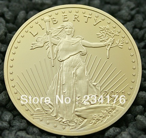 Usa 20 Liberty Dollars High 24k Gold High Quality Replica