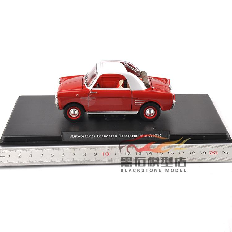 1:24 WhiteBox 1958 Otto Bianchi Bianchina Trasfor Metal  Car Models 1 18 otto renault espace ph 1 2000 1 car model reynolds