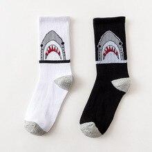 Tidal socks ulzzang skateboard socks port wind hip hop tide socks ins super fire men and women crocodile figure socks