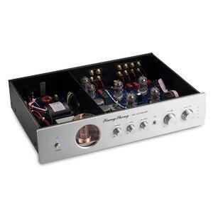 Image 3 - Nobsound Ultime di Fascia Alta di Vuoto 12AT7 12AU7 Tubo Pre Amplificatore Stereo Hi Fi Audio Del Desktop Preamplificatore