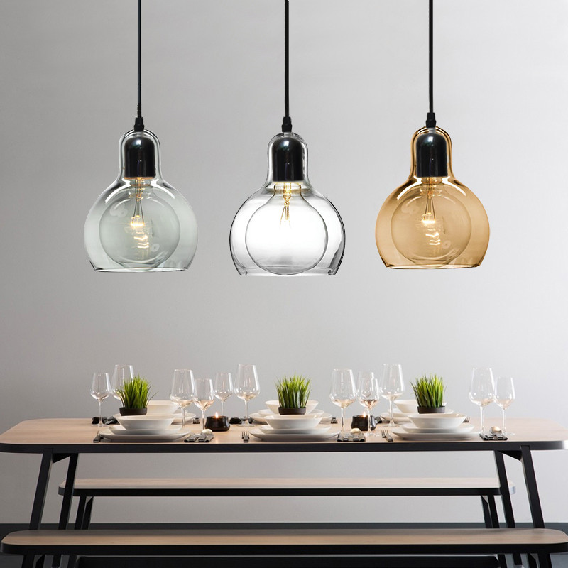 Us 36 18 49 Off Kitche Modern Pendant Lights Study Gl Lighting Fixtures Bedroom Hotel Light Bar Home Ceiling Lamp In
