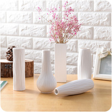 1 Pc Classic White Ceramic Vase