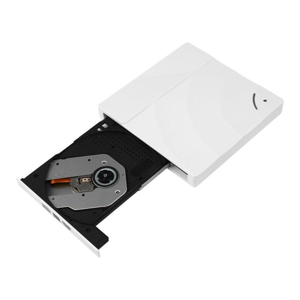 Super Slim Портативный USB 3,0 Интерфейс Drive Pop-up Мобильный Внешний dvd-привод DVD-RW для ПК для компьютера Mac
