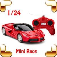 New Year Gift Rastar E L 1 24 RC Racing Mini Car Radio Electric Control Drift