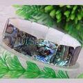 """Бесплатная доставка мода драгоценности природные новая зеландия ушка оболочки браслет 7 """" 1 шт. H030"""