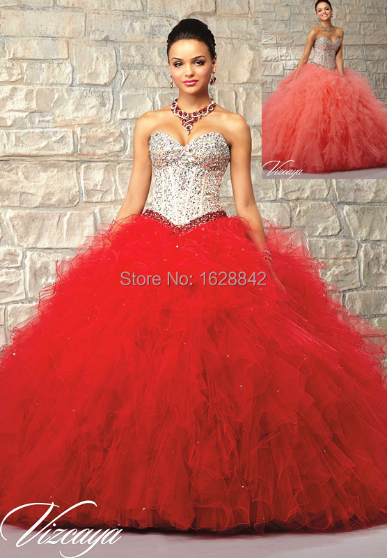 fb9632bb4d Cheap quinceanera gowns royal blue quinceanera dresses red 2016 ball gowns  vestidos de 15 anos sweet 16 dresses debutante gowns-in Quinceanera Dresses  from ...