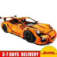 2018 New LEPIN 20001 20001B 2704Pcs Technic Series Race Car Model Building Kits Blocks Bricks Toy