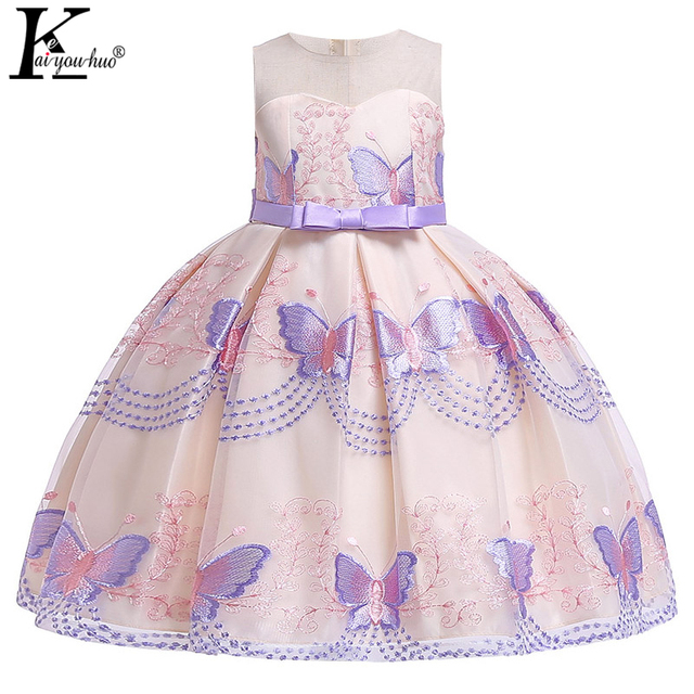 New Year Costume For Kids Dresses For Girls Wedding Dress Children Clothes Toddler Girl Princess Dress Birthday Party Dress