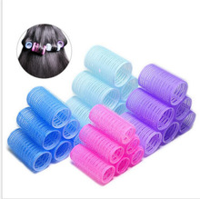 6pcs/1set soft large salon hair rollers curlers hairdressing tool