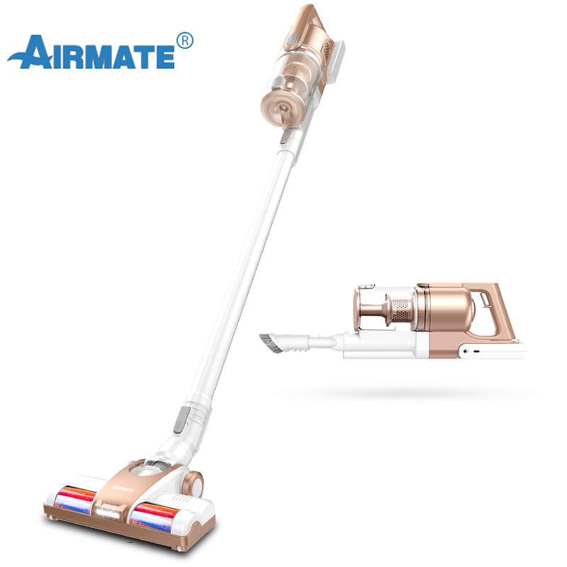 Aspirateur Vertical sans fil aspirateur pour la maison, Airmate HX07 filtre Cyclone 9000 Pa aspirateur fort Portable 2 en 1