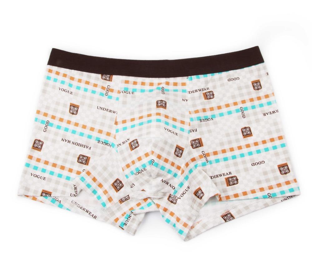 Bamboo Fiber Underwear Men Soft Boxer Shorts Panties Comfortable Breathable Underpants 30