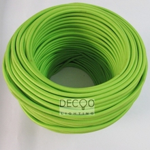 2*0.75MM Free Post Edison Vintage Lamp Wire Rayon Light Cord Fabric Textile Cable Lighting Flex Cord
