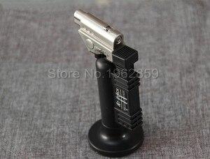 Image 1 - Dental Butane Gas Micro Torch Burner Welding Soldering Gun Lighter Flame Welder Windproof Fire Source Dental Lab Instrument Prod