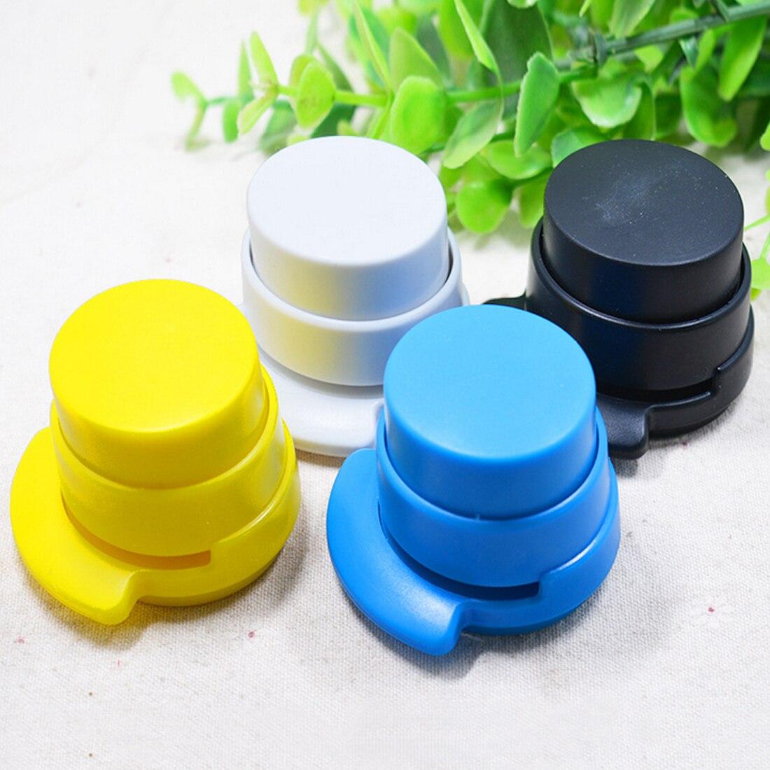 FangNymph Home Paper Office Home Staple Stapleless Stapler Paper Binding Binder Paperclip Mini Stapleless Stapler