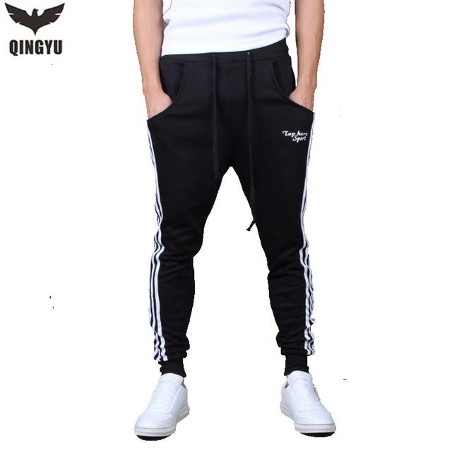 Pantalones para hombre 2016 Pantalones de La Venta Caliente Con Cordón Flojo Pantalones Basculador Para Hombre Pantalon Homme LKDWQ