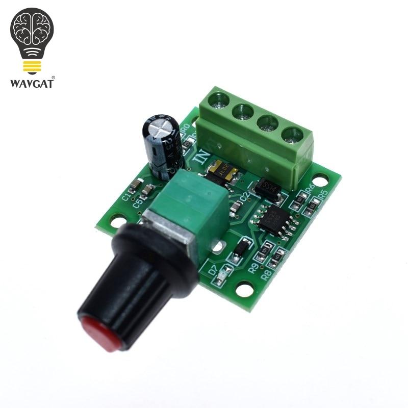 Dc 1.8V 3V 5V 6V 12V 2A Low Voltage Motor Speed Controller Pwm 1803B PDH