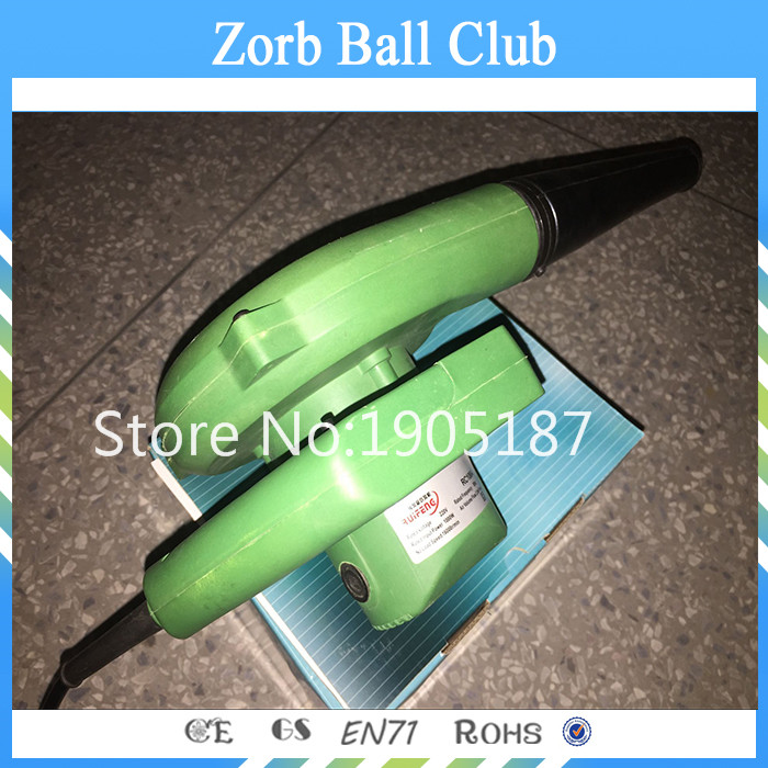 Free Shipping Inflatable Air Blower ,Pump 1000W For Zorb Ball inflatable zorb ball race track pvc go kart racing track for sporting party