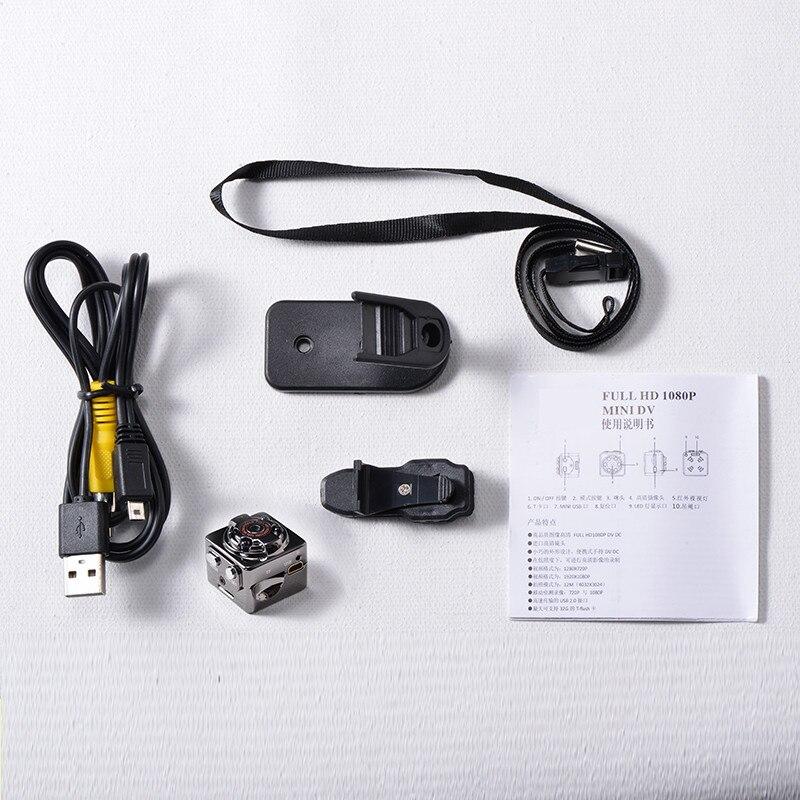SQ8 HD 1080P 720P יעילות גבוהה מיני מצלמה DV וידאו, אינפרא אדום לראיית לילה המצלמה הדיגיטלית