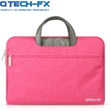 8afacf56711 Kwaliteit Canvas Laptop Sleeve Tas Mannen OF Vrouwen Handtas 13.3