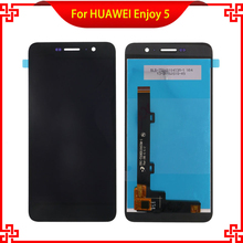 "High Quality 5"" Original LCD Display Touch Screen For HUAWEI Enjoy 5 100% Test Mobile Phone LCDs With Touch Panel Free Tools"