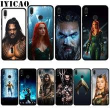 IYICAO Aquaman hermosa suave caso de Huawei P20 Pro P10 P8 P9 P30 Lite Mini 2017 P Smart 2019 cubierta