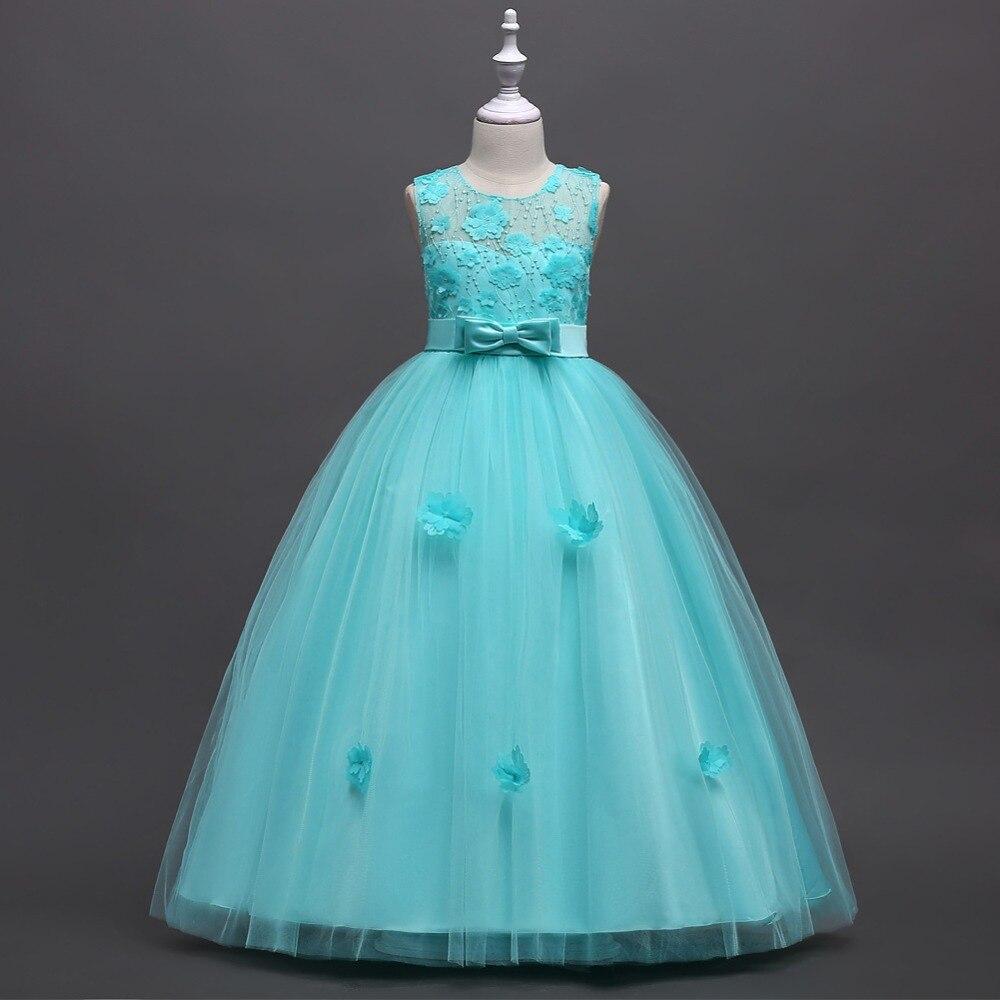 Long Style Lace Formal Evening Wedding Gown Tutu Princess Dress ...