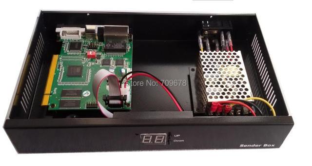 2017 Специальное Предложение Светодиодный Экран Отправителей С Linsn Ts802d Отправки Карты И Meanwell Питания Включены