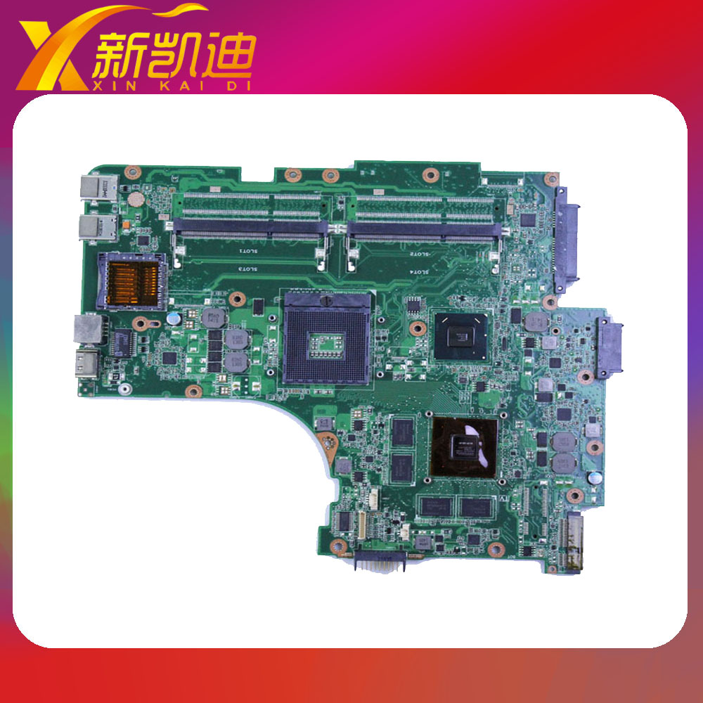 For ASUS N53SV N53SM N53SN Original laptop motherboard (mainboard) nvidia GT540M and 2 RAM slots Rev 2.2 1GB free shipping original new for asus n43sl laptop motherboard rev 2 0 ddr3 hm65 gt540m 1g n12p gt a1 mainboard
