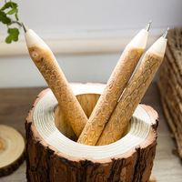 Multifunctional Wooden Office Organizer Fashion Cool Design Pencil Holders Desk Office Accessories Pen Holder