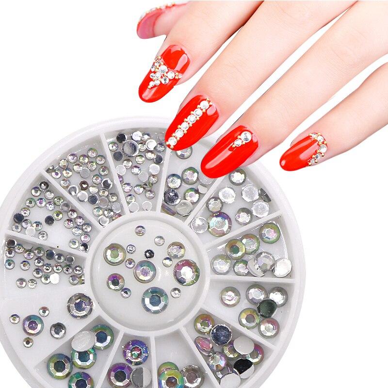 Nail Art Decorations Crystal Glitters Nails Art Rhinestones Crystal ...
