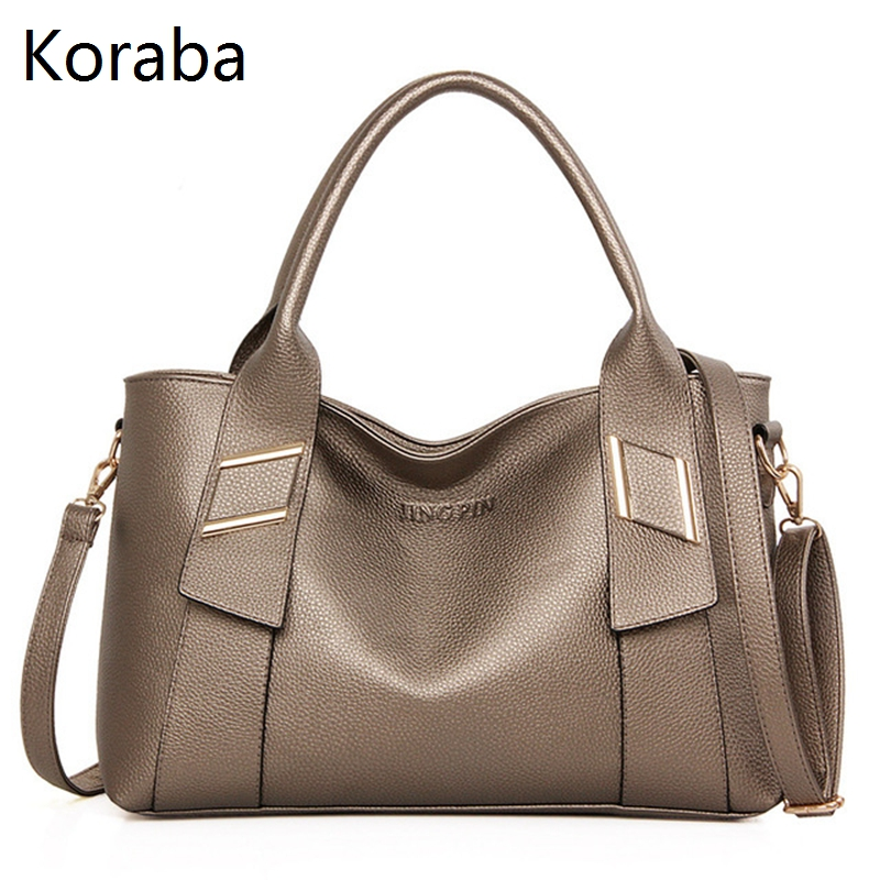 Koraba Luxury Handbags Women Bags Designer High Quality Pu Leather Big Casual Tote Bag Female Bag Women Messenger Bags For Women kadell hollow designer handbags high quality women casual tote bag female large shoulder messenger bags pu leather business bag