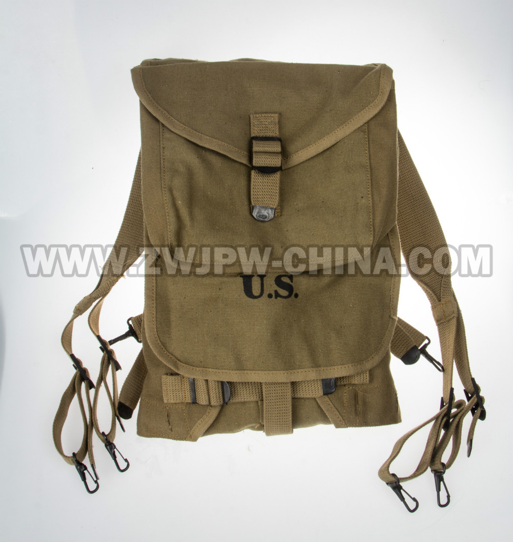 ФОТО WW2 WWII US MUSETTE ARMY M1928 HAVERSACK KNAPSACK KHAKI OUTDOOR HUNTING CAMPING HIKING BAG POUCH BACKPACK US/107104