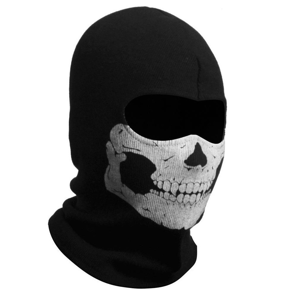 High Quality All Cotton Military Full Face Skull Mask Ghost Mask ...