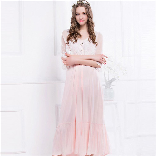 Online Get Cheap Long Satin Nightgown -Aliexpress.com | Alibaba Group