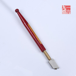 5pcs lot diamond cutter manual glass cutter knife with wooden handle red sharp edge for cutting.jpg 250x250