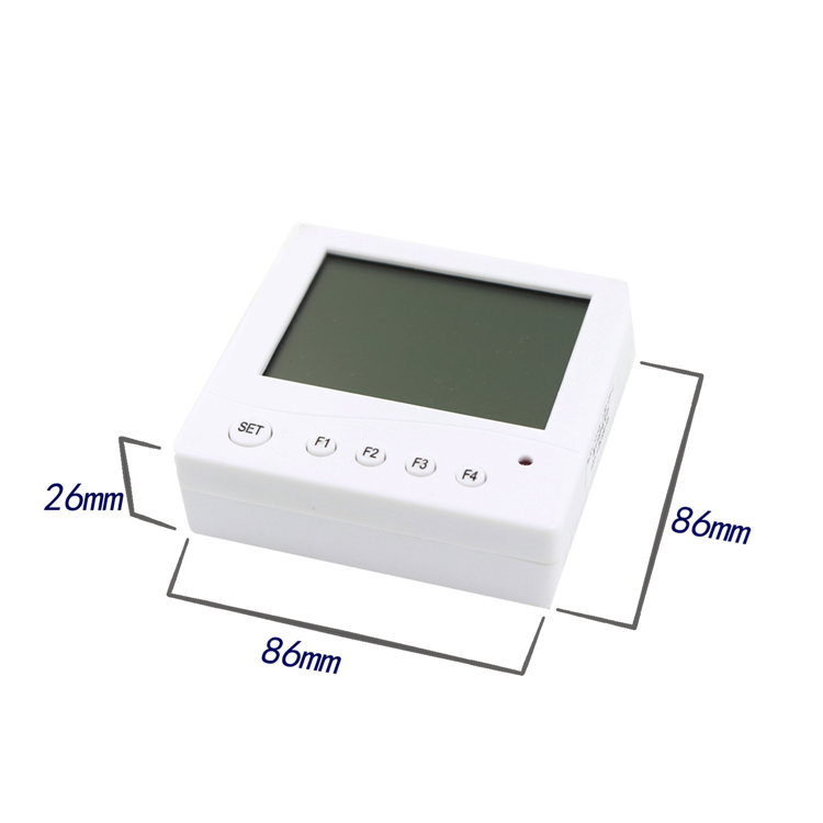 Hygrometer industrial high precision liquid crystal display temperature and humidity sensor 86 box 485 outputHygrometer industrial high precision liquid crystal display temperature and humidity sensor 86 box 485 output