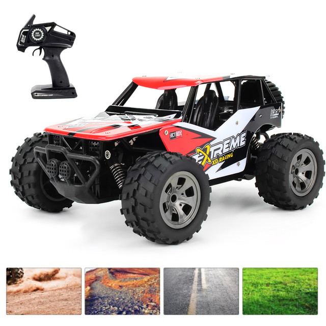 Monster Truck Rc Cars >> 1812 A Remote Control Rc Cars Toys 2 4g 4 Channels 1 18 Monster Truck Car 18km H High Speed 260 Strong Motor Rtr Toy Gift