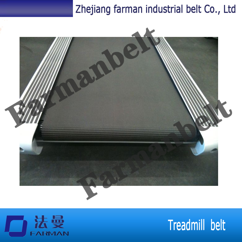 Long Life Black Wear Resistant PVC Treadmill Conveyor Belt
