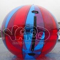 Inflatale пляжный мяч воды Гуляя надувной пузырь водный шар