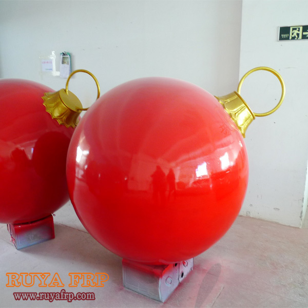 40cm 185cm diameter christmas ball decorationfiberglass big ballindoor outdoor christmas decorations - Fiberglass Christmas Decorations
